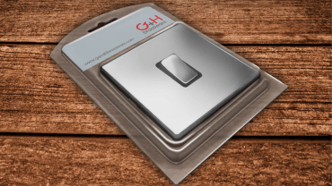 G & H Brassware switch pack by expressive design