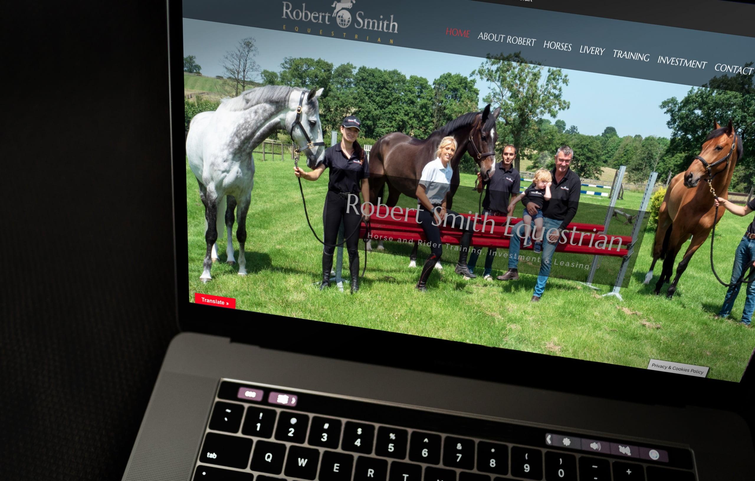 Robert Smith Equestrian Website
